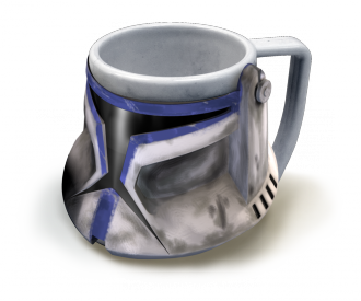 Taza 3D Star Wars Trooper