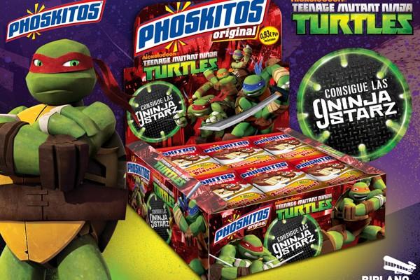 Phoskitos – Tortugas Ninja