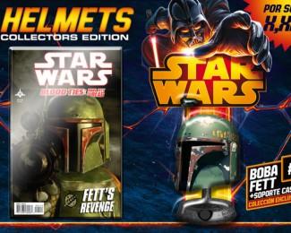 Colección de cascos Star Wars