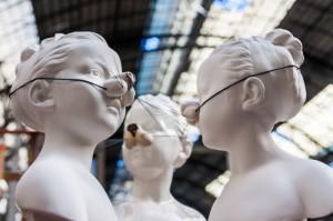 Escultura en Déballage BCN 2014